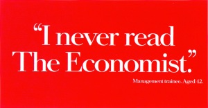The Economist advertisement