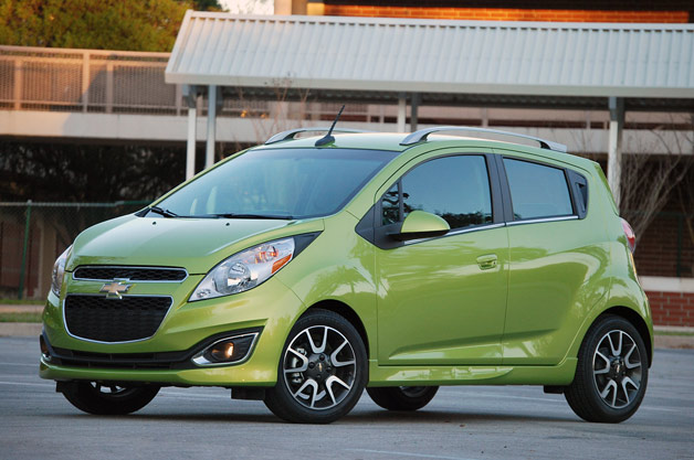 "GM found a ""Spark"" of sales with Chevy hatchback. /terrible joke"